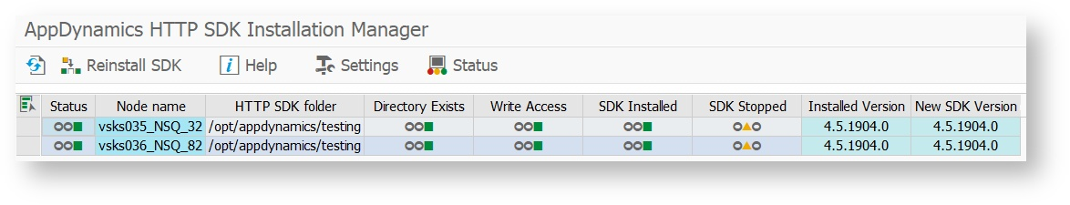 Installing HTTP SDK Automatically - AppDynamics SAP Agent
