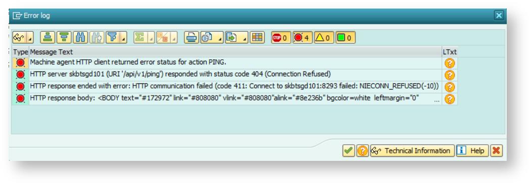 ABAP Agent Logs - AppDynamics SAP Agent