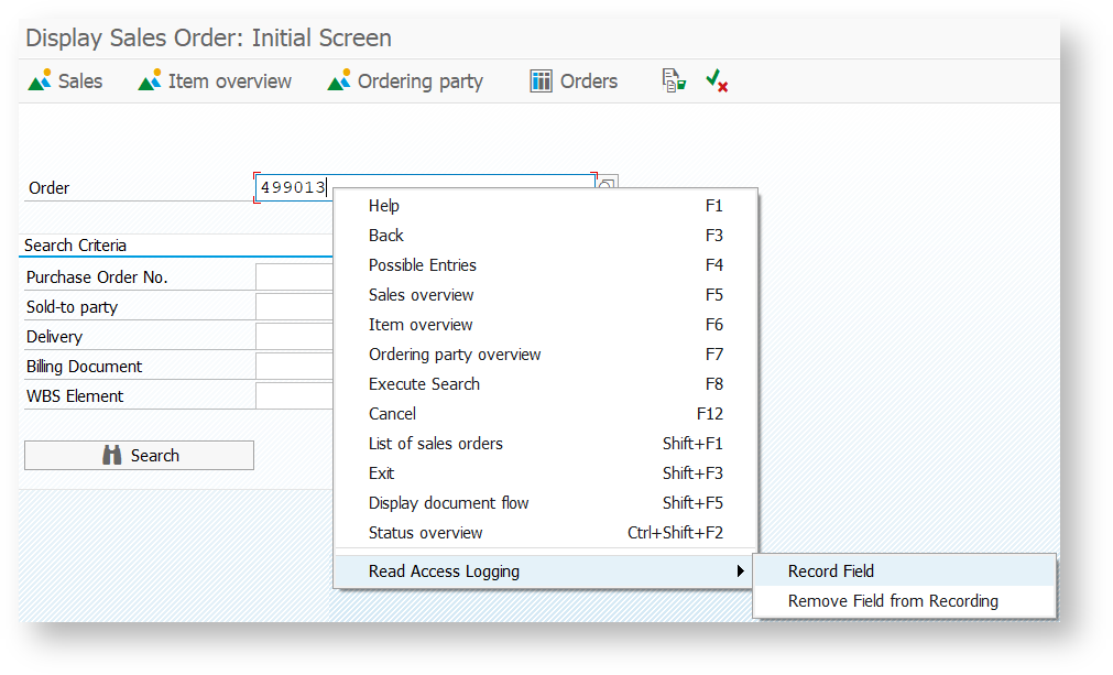 Configure Data Collectors for SAP Dialog Transactions